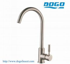 304 Stainless steel kitchen sink mixer faucet
