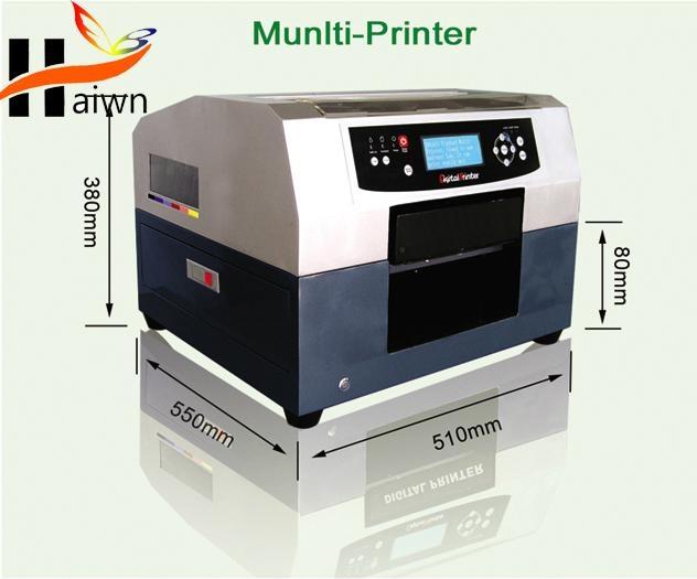 A4 small size digital DTG fabric textile printer Haiwn-T400