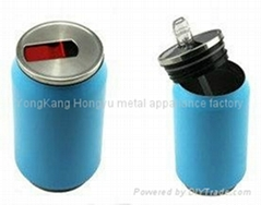 Fashion design stainless steel thermos mug with a straw