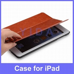 Business Style PU Leather Smart Case Cover for Apple iPad mini 2