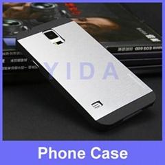 Motomo Brushed Hard Aluminum Cover Back Cases for Samsung Galaxy S5 i9600