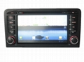 Car GPS with dvd player with for Audi A3 1