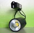 Bridgelux COB LED track light 30w CE ROHS 3 years warranty CRI>80Ra 1