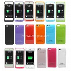 External battery case for Iphone 5 power case