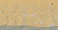 王室真丝手绘墙纸 4