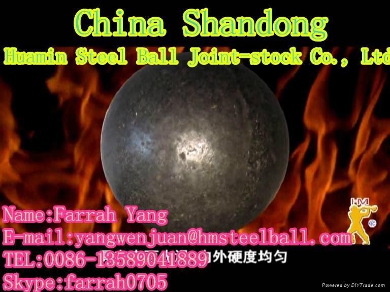 Forged Grinding Ball 1