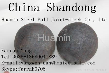 Huamin Forged Mill Ball 2