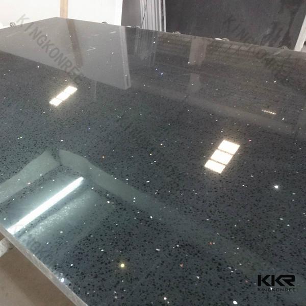 Black Mirror Quartz Stone Starlight Black Quartz Stone