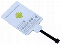 qi Universal Wireless Charging Receiver for All Mirco Port Mobile 5pin