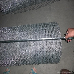 PVC Coated Iron Wire Gabion mesh