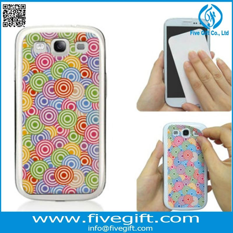 Sticky screen cleaner as iphone Ipad samsung protective decorative skin 3