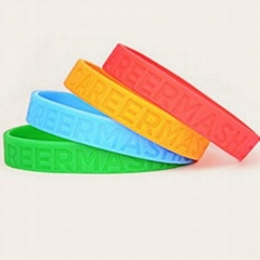 factory custom made cute silicone friendship bracelets