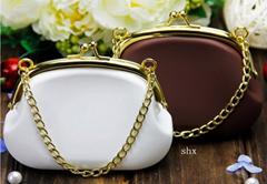 factory direct cheap designer handbags cute silicone purses on sale