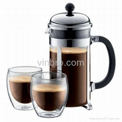 VinBRO French Press Coffee Maker Fully Espresso Coffee Machine Commercial