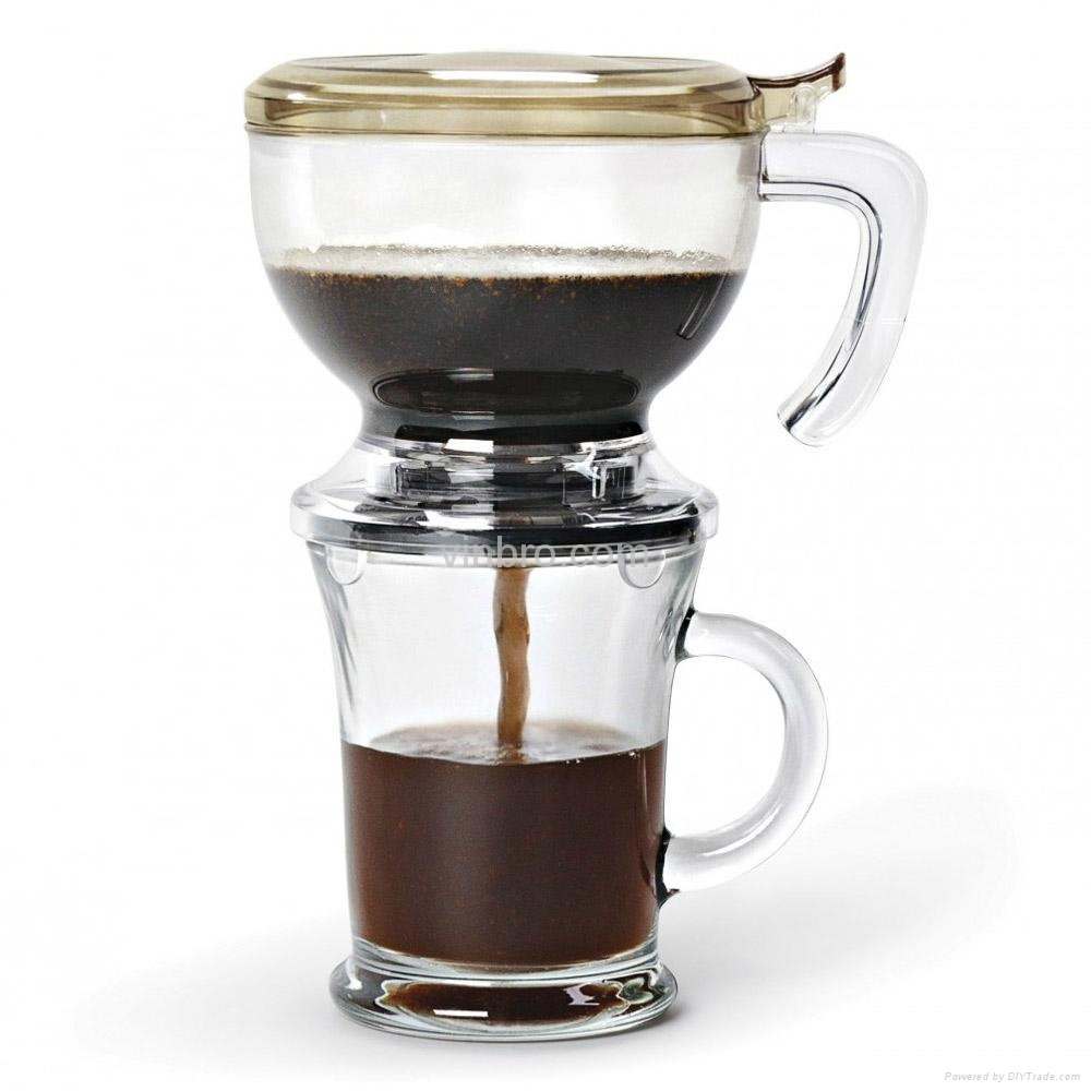 VinBRO French Press Coffee Maker Fully Espresso Coffee Machine Commercial  4