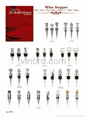 VinBRO Professional Wine Stoppers Bar Tools Set Ice Crushers Manual Juicers