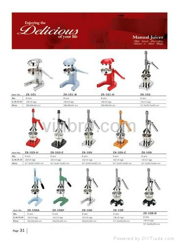 VinBRO Professional Wine Stoppers Bar Tools Set Ice Crushers Manual Juicers  3
