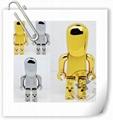 五金机器人u盘外壳