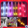 Remote Controlled LED Flashing Wristband