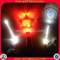 OEM Lighting Stick Customized Flashing