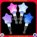 Star Flashing Stick Heart Glowing Wand