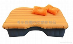 The inflatable bed