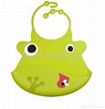 BPA free new design silicone  baby bib