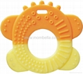 Eco-friendly silicone baby teether with attractive design