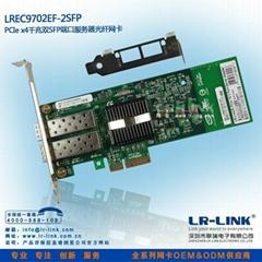 PCI-E服務器千兆光纖網卡