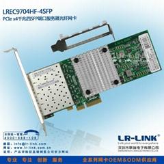 PCI-E千兆服務器光纖網卡