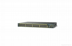 CISCO Catalyst WS-C2960S-48TS-S  48 ports Managed - rack-mountable switch