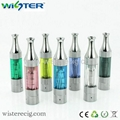mini vivi nova atomizer,vivi nova v10 with SS drip tip,hard PC tube