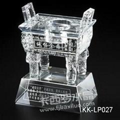 福州卡西羅水晶奠基禮品