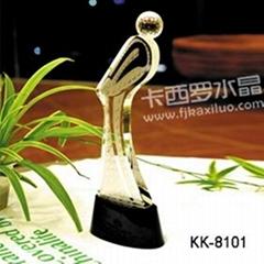 福州卡西罗水晶高尔夫赛事奖杯