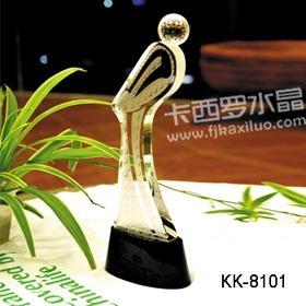福州卡西罗水晶高尔夫赛事奖杯 1