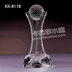 福州卡西罗水晶高尔夫赛事奖杯 2