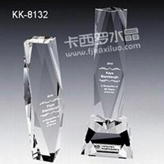 福州卡西羅水晶獎杯
