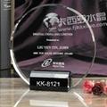 福州卡西罗水晶奖牌