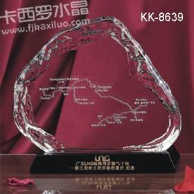 福州卡西罗水晶奖牌 3