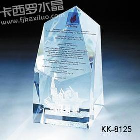 福州卡西罗水晶奖牌 4