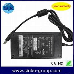 switching ac dc adapter for LCD monitor 12V 5A 60W 5.5*2.5mm