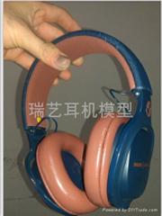 Headphone model
