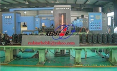 Insulating glass aluminum spacer bar production line