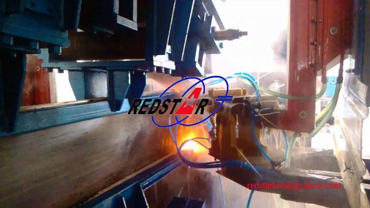 High frequency H-beam production line 2