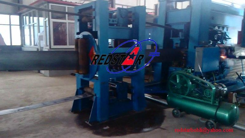 High frequency H-beam production line 3
