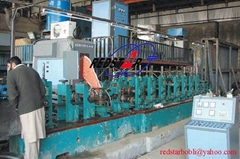 High Frequency Carbon Steel Welded Pipe Production Line