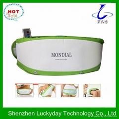 Heating vibration abdominal massage belt