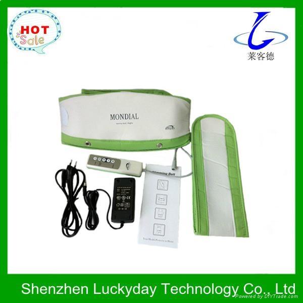Heating vibration abdominal massage belt  2