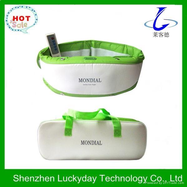 Heating vibration abdominal massage belt  3