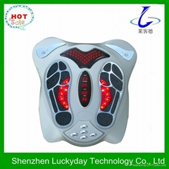 Best quality silver impulse foot massager with CE
